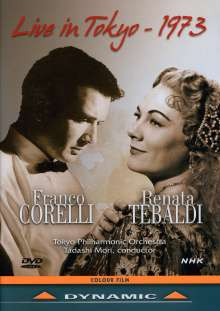 Franco Corelli & Renata Tebaldi - Live in Tokyo 1973, DVD