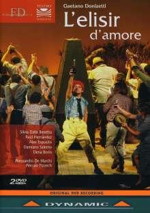 Gaetano Donizetti (1797-1848): L'elisir d'amore, 2 DVDs