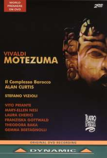 Antonio Vivaldi (1678-1741): Motezuma RV 723, 2 DVDs