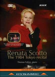 Renata Scotto  - The 1984 Tokyo Recital, DVD
