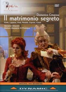 Domenico Cimarosa (1749-1801): Il Matrimonio Segreto, DVD