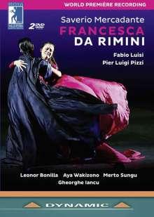 Saverio Mercadante (1795-1870): Francesca da Rimini, 2 DVDs