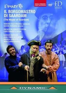 Gaetano Donizetti (1797-1848): Il Borgomastro di Saardam, DVD