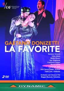 Gaetano Donizetti (1797-1848): La Favorita, 2 DVDs