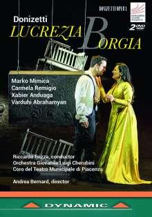 Gaetano Donizetti (1797-1848): Lucrezia Borgia, 2 DVDs
