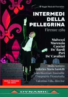 Intermedi della Pellegrina Firenze 1589 - An Itinerant Show in the Boboli Gardens, 2 DVDs