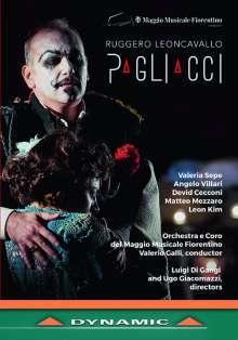 Ruggero Leoncavallo (1857-1919): Pagliacci, DVD