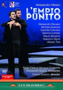Alessandro Melani (1639-1703): L'Empio Punito, DVD