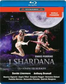 Ennio Porrino (1910-1959): I Shardana, Blu-ray Disc