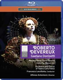 Gaetano Donizetti (1797-1848): Roberto Devereux, Blu-ray Disc