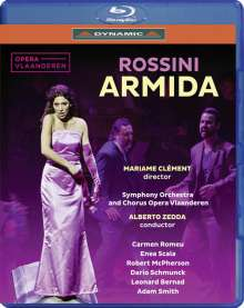 Gioacchino Rossini (1792-1868): Armida, 2 Blu-ray Discs
