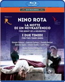 Nino Rota (1911-1979): La Notte di un Nevrastenico (The Night of a Neurotic), Blu-ray Disc