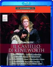Gaetano Donizetti (1797-1848): Il Castello di Kenilworth, Blu-ray Disc