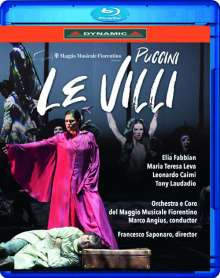 Giacomo Puccini (1858-1924): Le Villi, Blu-ray Disc