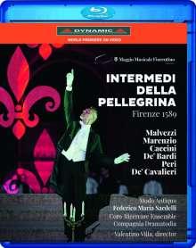 Intermedi della Pellegrina Firenze 1589 - An Itinerant Show in the Boboli Gardens, Blu-ray Disc
