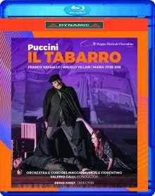 Giacomo Puccini (1858-1924): Il Tabarro, Blu-ray Disc