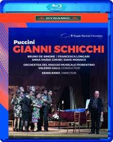 Giacomo Puccini (1858-1924): Gianni Schicchi, Blu-ray Disc