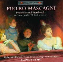 Pietro Mascagni (1863-1945): Orchesterwerke, CD