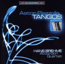 Astor Piazzolla (1921-1992): Tangos für Akkordeonquartett, CD