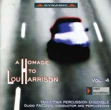 Lou Harrison (1917-2003): Konzert für Violine & Schlagorchester, CD