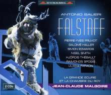 Antonio Salieri (1750-1825): Falstaff, 2 CDs