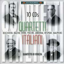 Quartetto Di Venezia - Quartetti Italiani, 10 CDs