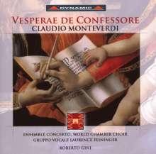 Claudio Monteverdi (1567-1643): Vesperae De Confessore, CD