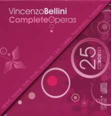 Vincenzo Bellini (1801-1835): Sämtliche Opern, 24 CDs