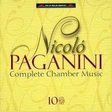Niccolo Paganini (1782-1840): Kammermusik, 10 CDs