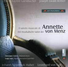Der musikalische Salon der Annette von Menz, CD