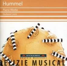 Johann Nepomuk Hummel (1778-1837): Klavierwerke, CD