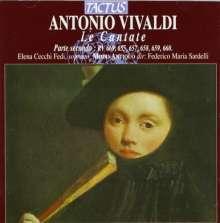 Antonio Vivaldi (1678-1741): Kantaten RV 655,657-660,669, CD