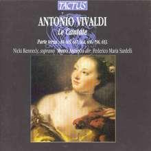 Antonio Vivaldi (1678-1741): Kantaten RV 653,656,662,665,667,796, CD