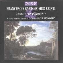 Francesco Bartolomeo Conti (1681-1732): Cantate con Istromenti Nr.1-4, CD