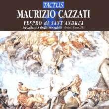 Maurizio Cazzati (1620-1677): Vespro di Sant' Andrea, CD