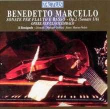 Benedetto Marcello (1686-1739): Flötensonaten op.2 Nr.1-6, CD