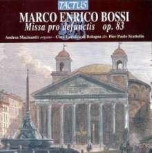 Marco Enrico Bossi (1861-1925): Missa pro Defunctis op.83 für Chor & Orgel, CD