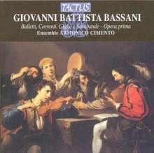 Giovanni Battista Bassani (1657-1716): Balletti,Correnti,Gigue & Sarabande, CD