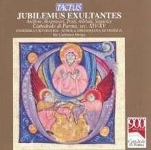 Canti Gregoriani - Jubilemus Exultantes, CD