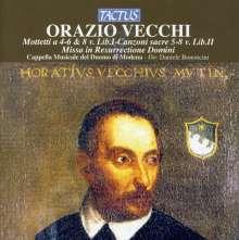 Orazio Vecchi (1550-1605): Missa in Resurrectione Domini, CD