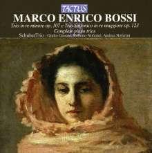 Marco Enrico Bossi (1861-1925): Klaviertrios opp.107 & 123, CD