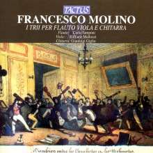 Francesco Molino (1775-1847): Trios für Flöte, Viola & Gitarre, CD