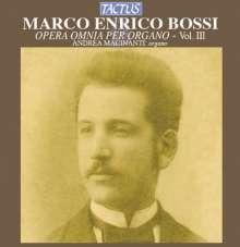 Marco Enrico Bossi (1861-1925): Orgelwerke Vol.3, CD