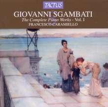 Giovanni Sgambati (1841-1914): Sämtliche Klavierwerke Vol.1, CD