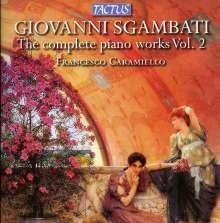 Giovanni Sgambati (1841-1914): Sämtliche Klavierwerke Vol.2, CD