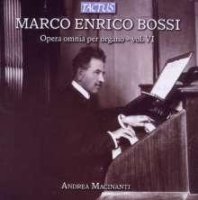 Marco Enrico Bossi (1861-1925): Orgelwerke Vol.6, CD