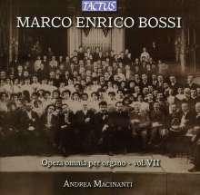 Marco Enrico Bossi (1861-1925): Orgelwerke Vol.7, CD