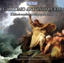 Giacomo Antonio Perti (1661-1756): Il Mose conduttor del popolo ebreto (Oratorium), CD