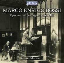 Marco Enrico Bossi (1861-1925): Orgelwerke Vol.8, CD