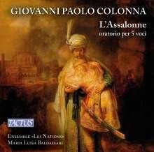Giovanni Paolo Colonna (1637-1695): L'Assalonne (Oratorium), CD